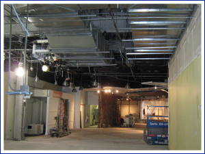 Seasons 52 restaurant construction