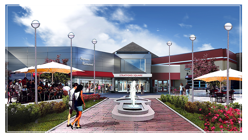 Stratford Square Mall - Commercial COnstruction
