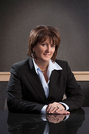 Englewood Construction's CFO, Mary Davolt, who was recently honored as a CFO of the year by the Daily Herald